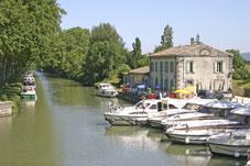 Le Canal du Midi à Bram