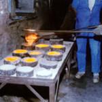 Le cuivre en fusion
