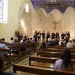 Chorale a l'église de Durfort