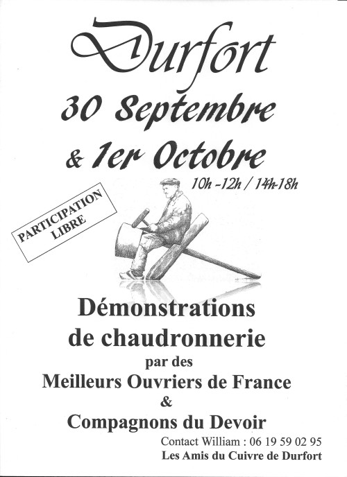 DEMONSTRATION CHAUDRONNERIE 2017 2